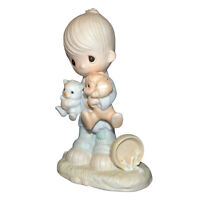 Precious Moments Figurine E3107 ln box Blessed Are The Peacemakers