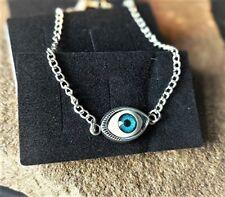 Mystical Eye Anklet Ankle Bracelet Handmade Silver Plated Ladies/Girls/Boys