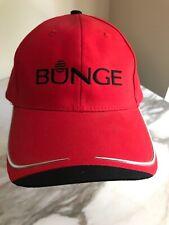 Bunge Grain Red Cap Hat