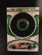 2006 PRESS PASS PREMIUM ELLIOTT SADLER BURNOUTS TIRE 393/1050 Nascar Memorabilia