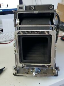 Graflex Speed Graphic 4X5 Large Format Focal Plane Shutter Body *AS-IS*