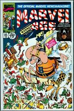 Marvel Comics MARVEL AGE #85 Captain America Groo NM 9.4