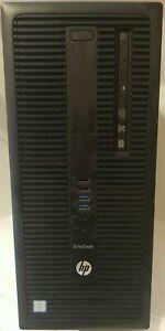 HP EliteDesk 800 G2 TWR i7-6700 3.40GHz 16GB DDR4 128GB SSD Win10 Radeon R9 350