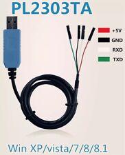 PL2303TA USB a TTL Convertidor de RS232 Cable Serial 80 Cm para Windows XP/7/8/8.1