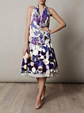 DVF Floral Adella Skirt US8 UK12 DIANE VON FURSTENBEG Brand NEW