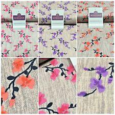 Floral cotton poplin Printed Fabric 110 cm MK1263 Mtex
