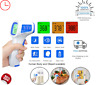Digital Infrared Thermometer Non-Contact Baby Adult Head Body Food Dual Mode Gun