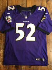 Baltimore Ravens - Vintage Purple #52 Ray Lewis Jersey - Nike - Size 44 - Sewn