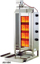 Axis AX-VB4 Commercial 4-Burner Gas Vertical Gyro & Shawarma Broiler BRAND NEW!!
