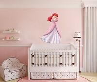 Disney Princess Ariel LARGE VINYL WALL STICKER DECALS CHILDREN Room 73