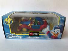 Burago BBurago Disney Scrooge car Auto di Paperone 1/24 NEW