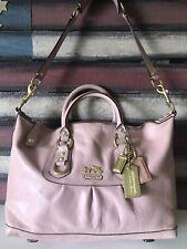 Coach MADISON SABRINA Pink Leather Satchel bag Convertible Shoulder 12937