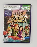 XBOX 360 Kinect Adventures Game With Manual. 2010. Requires Kinect Sensor