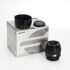 Olympus AF 50mm F2 Zuiko Digital ED Autofocus Prime Lens Macro w/Hood 261003