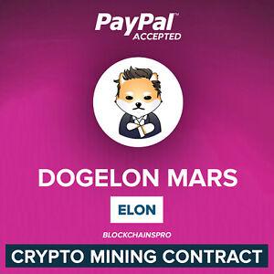 20000000 DOGELON (ELON) - 20 MILLION Dogelon Mars - ELON CRYPTO CONTRACT MINING