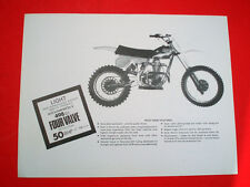 CCM •NOS OEM Clews 1979 US Sales Literature Brochure 500 MX Four Valve BSA B50