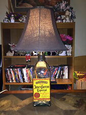 large jose cuervo Tequila  Bottle Lamp  Man Cave Bar stands approx 29 inhces