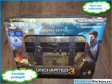 Uncharted 3 Drake's Deception Explorer Edition PS3 Playstation 3 NEW - SAFEPOST