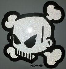 Ken Block 43 Sticker reflektierender Sticker Decal Skull Bike totenkopf 10 cm