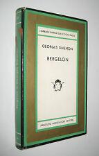 Simenon BERGELON Medusa Mondadori 1964