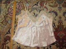 Victoria's Secret Pink Satiny w/ Lace Camisole Women's sz S