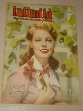 INTIMITA rivista 3 MAGGIO 1951 n. 269 = ARLENE DAHL cover magazine =