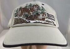 Beaver Excavating Mountain  Wolves Scene Stitched Adjustable Hat K Products ST21