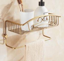 Bathroom Shower Caddy Basket Wall Shelf Kitchen Storage Rack Hanger Organizer