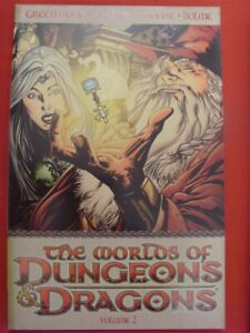 WORLDS DUNGEONS DRAGONS VOL.2 DDP TPB COMIC 1ST PRINT GREENWOOD MOORE 2008 NM