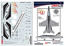 Decal 75 SQN RAAF 70th Anniversary F/A-18 Hornet 1/48 Scale