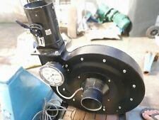 ventilateur turbine à aire 1700m3/h avec vanne dmv 370-1/s 400v