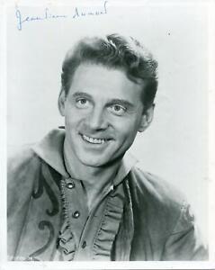 Jean-Pierre Aumont AutographTaras Bulba Lili French Actor Signed Photo