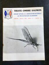 REVUE TRUITE OMBRE SAUMON ORGANE OFFICIEL DE L'ASSOCIATION NATIONALE 1971