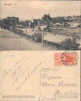 CANICATTI DEL 1931 LA VILLA ANIMATA CON BAMBINI IN POSA FOTOGRAFICA-RARA*N.47601