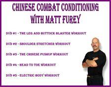Matt Furey Chinese Combat Conditioning (5) Dvd Set leg buttock pushup workout