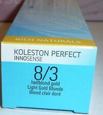 WELLA KOLESTON PERFECT INNOSENSE 8/3 rubio platino oro 60ml