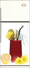Aufkleber Kühlschrank Haushaltsgeräte Dekor Küche Cocktail 60x90cm ref 030