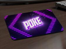 POKE youtuber Tappetino Mouse PC MAC APPLE GIOCO VIDEO GAME REGALO DESK PAD 707