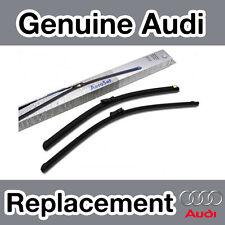 Genuine Audi A4 (8K) (08-) Front Windscreen Wiper Blades (Pair)