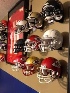 Mini Football Helmet Wall Hanger Mount