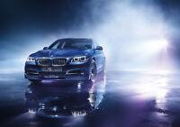 2015 BMW ALPINA B6 BITURBO NEW A2 CANVAS GICLEE ART PRINT POSTER