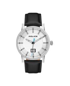 15404J Police Collin Black Strap Watch