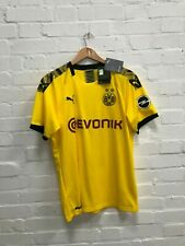 Borussia Dortmund FC PUMA Men's 2019/20 Home Shirt - Large - Reus 11 - New