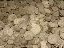 HUGE ESTATE SALE LOT+90% SILVER GOLD+OLD US COINS+QUARTER POUND LB  BULLION #70