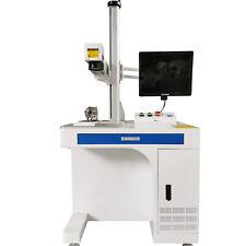 100w Raycus Fiber Laser Marking Machine Metal Non Metal Engraving Cnc Steel Diy