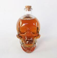 150ml Mini Crystal Skull Head Vodka Whiskey Shot Home Bar Glass Bottle Decanter