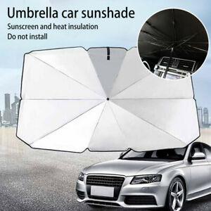Auto Windschutzscheibe UV-Schutz Sonnenschirm Frontscheibe Abdeckung 65*125CM↑