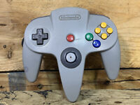 N64 Gray Controller Tested Nintendo 64 Authentic Official OEM NUS-005