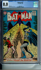 BATMAN 167 CGC 8.0 NON-CIRCULATED NEW CASE DC COMICS 1964
