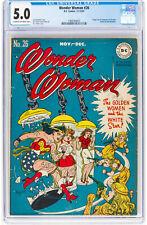 Wonder Woman #26 CGC 5.0 DC 1947 Justice League! Golden! JLA! K2 197 cm